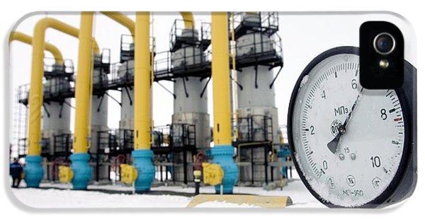 Gas Compressor Station In Belarus IPhone 5 Case
