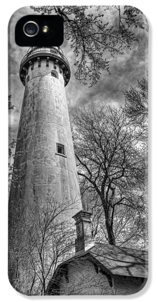 Grosse Point Lighthouse IPhone 5 Case by Scott Norris