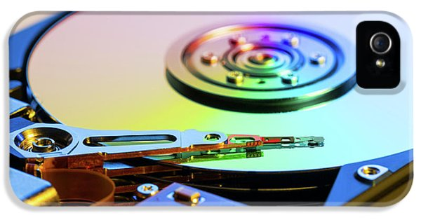 Hard Disc Drive IPhone 5 Case