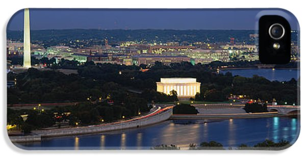 High Angle View Of A City, Washington IPhone 5 Case