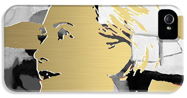 Hillary Clinton Gold Series IPhone 5 / 5s Case by Marvin Blaine