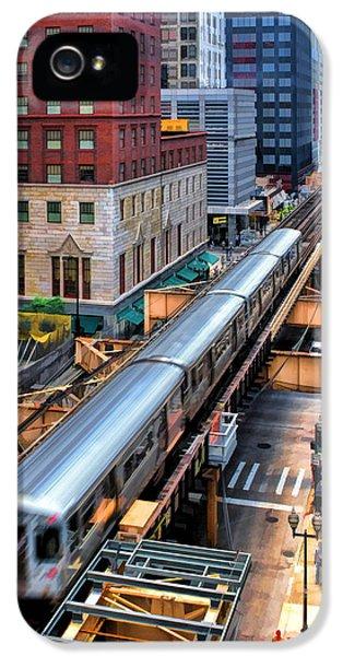 Historic Chicago El Train IPhone 5 Case