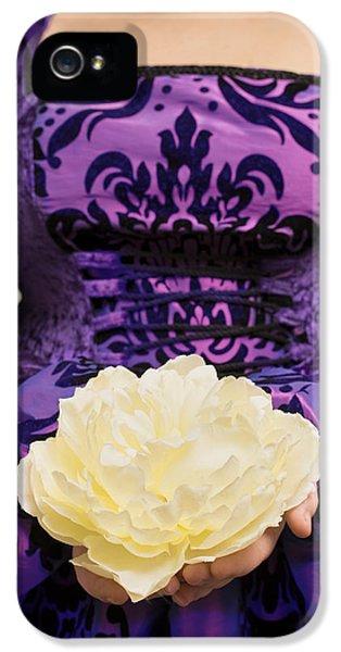 Holding Rose IPhone 5 Case by Amanda Elwell