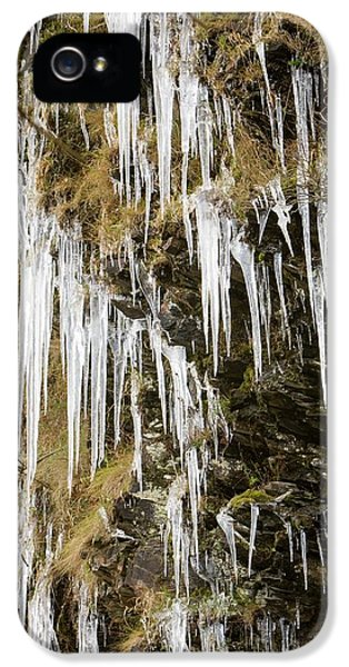 Icicles At Tilberthwaite IPhone 5 Case