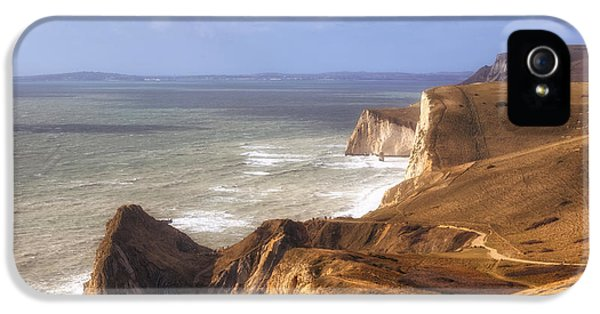 Dorset iPhone 5 Case - Jurrasic Coast Dorset by Joana Kruse
