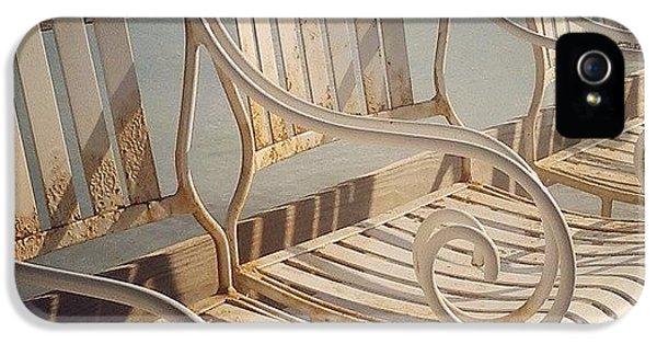 Decorative iPhone 5 Case - Beach Bar Chairs by Dani Hoy