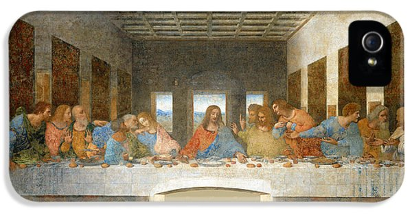 Last Supper IPhone 5 Case by Leonardo Da Vinci