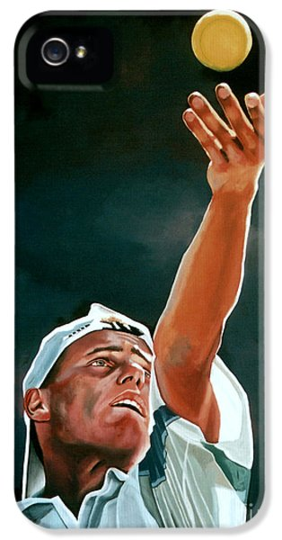 Lleyton Hewitt IPhone 5 / 5s Case by Paul Meijering