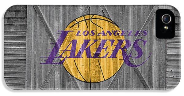 Los Angeles Lakers IPhone 5 Case by Joe Hamilton
