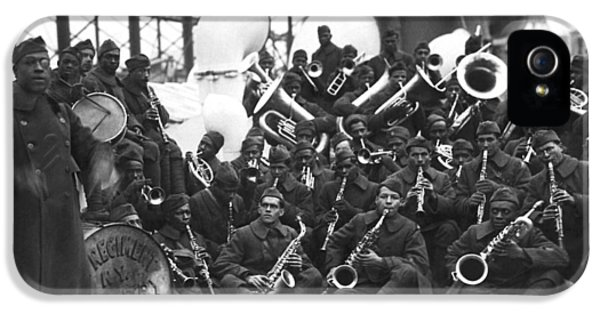 Harlem iPhone 5 Case - Lt. James Reese Europe's Band by Underwood Archives