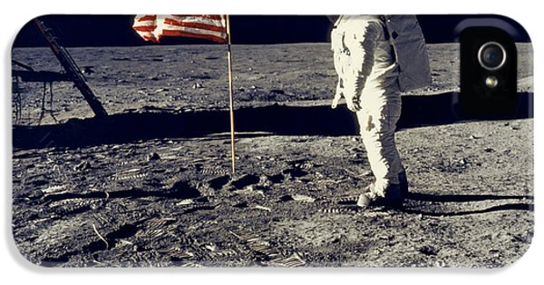 Man On The Moon IPhone 5 Case