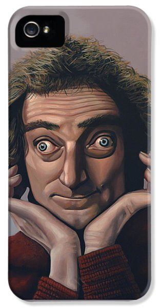 Python iPhone 5 Case - Marty Feldman by Paul Meijering
