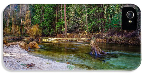Merced River Yosemite National Park IPhone 5 Case