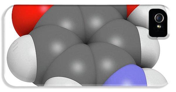 Mesalazine Bowel Disease Drug Molecule IPhone 5 Case by Molekuul