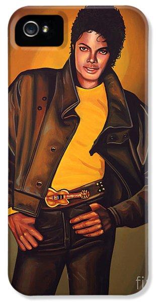 Michael Jackson IPhone 5 Case by Paul Meijering