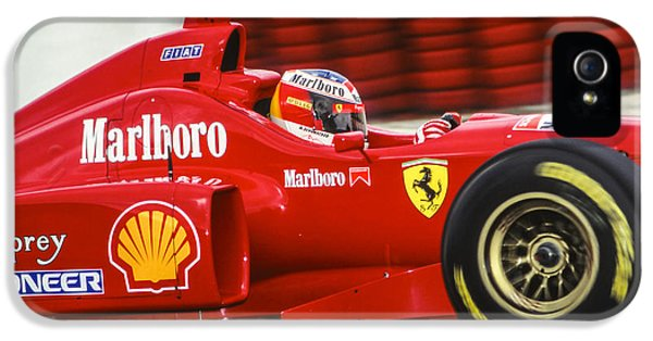 Michael Schumacher  IPhone 5 Case by Jose Bispo