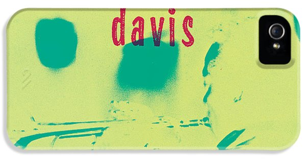 Trumpet iPhone 5 Case - Miles Davis -  Blue Moods by Concord Music Group