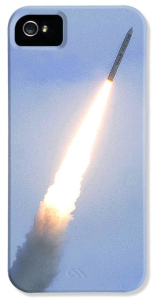 Minotaur Iv Lite Launch IPhone 5 Case by Science Source