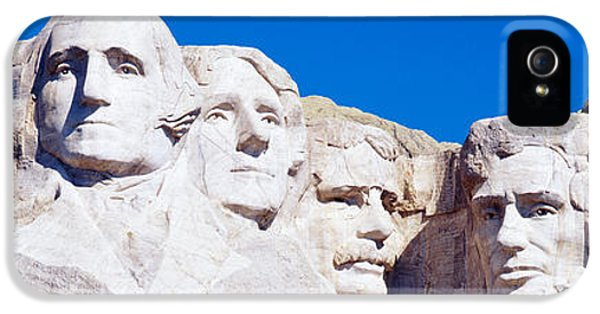 Mount Rushmore, South Dakota, Usa IPhone 5 / 5s Case by Panoramic Images