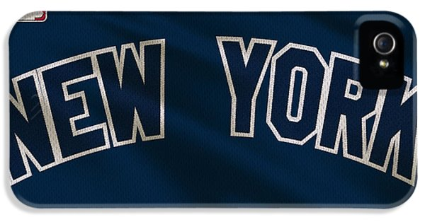 Derek Jeter iPhone 5 Case - New York Yankees Uniform by Joe Hamilton