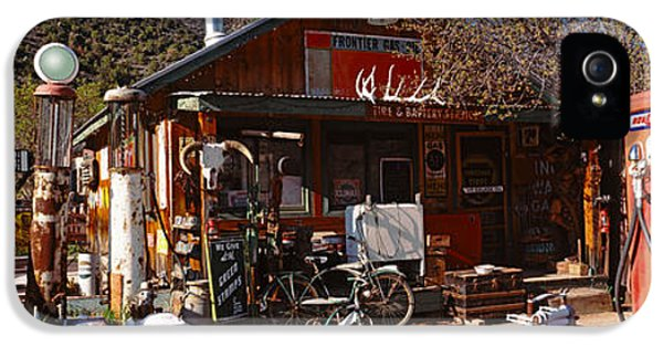 Old Frontier Gas Station, Embudo, New IPhone 5 Case by Panoramic Images