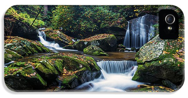 On The Way To Catawba Falls IPhone 5 Case by Andres Leon