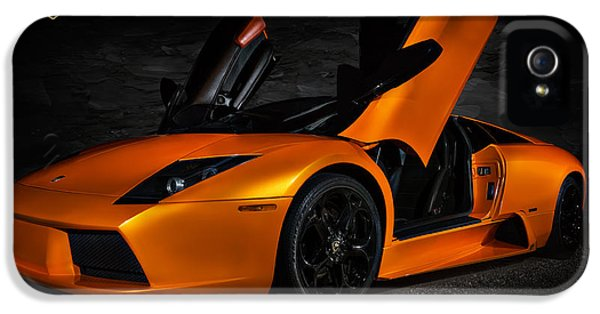 Orange Murcielago IPhone 5 Case by Douglas Pittman