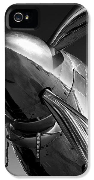 White iPhone 5 Case - P-51 Mustang by John Hamlon
