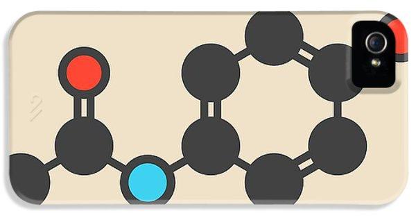 Toxicity iPhone 5 Case - Paracetamol Molecule by Molekuul