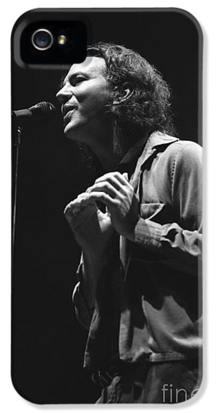 Pearl Jam IPhone 5 Case by Concert Photos