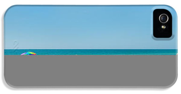People On The Beach, Venice Beach, Gulf IPhone 5 Case