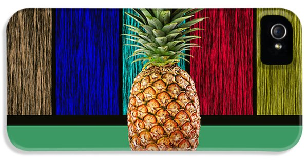 Pineapple IPhone 5 Case by Marvin Blaine