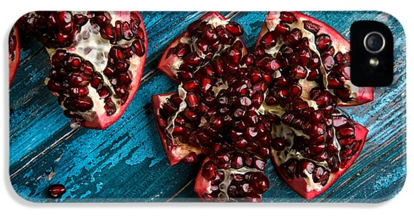 Pomegranate IPhone 5 Case by Nailia Schwarz