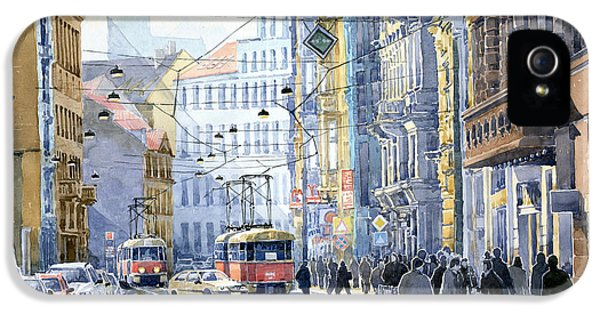 Prague Vodickova Str  IPhone 5 Case