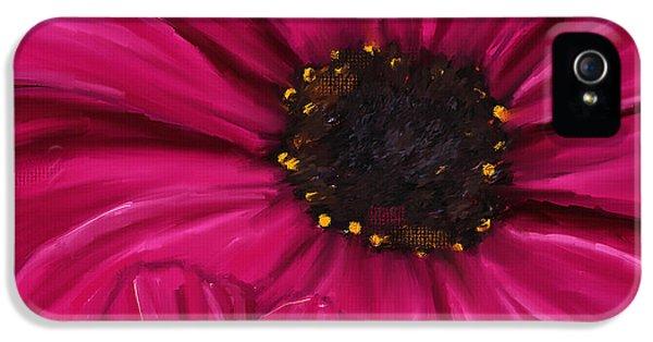 Purple Beauty IPhone 5 / 5s Case by Lourry Legarde