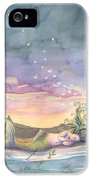 Rest On The Horizon IPhone 5 Case by Sara Burrier