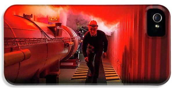 Safety Training At Cern IPhone 5 Case by Cern