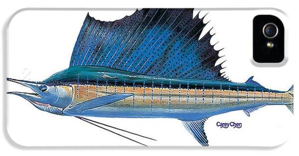 Swordfish iPhone 5 Case - Sailfish by Carey Chen