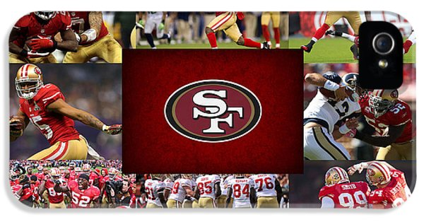 San Francisco 49ers IPhone 5 Case by Joe Hamilton