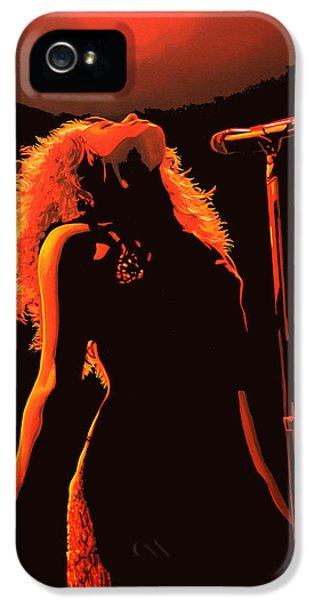 Shakira IPhone 5 Case by Paul Meijering