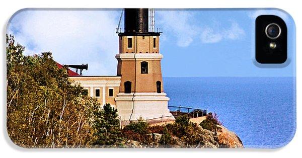 Split Rock Lighthouse IPhone 5 / 5s Case by Kristin Elmquist