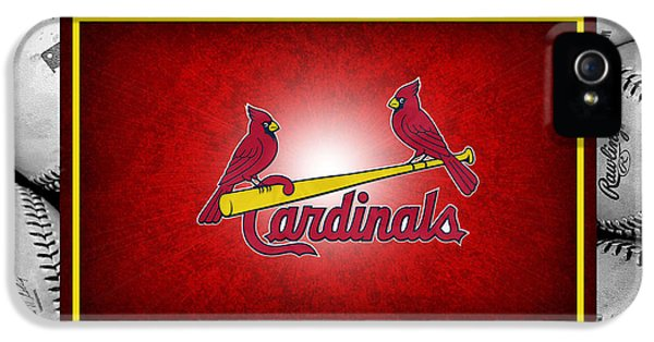 St Louis Cardinals IPhone 5 Case by Joe Hamilton