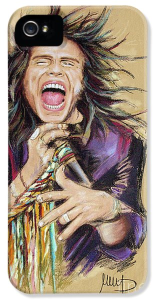 Steven Tyler  IPhone 5 Case by Melanie D