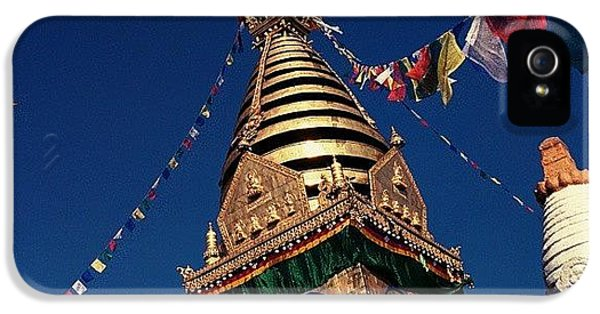 Stupa Swayambhunath IPhone 5 Case