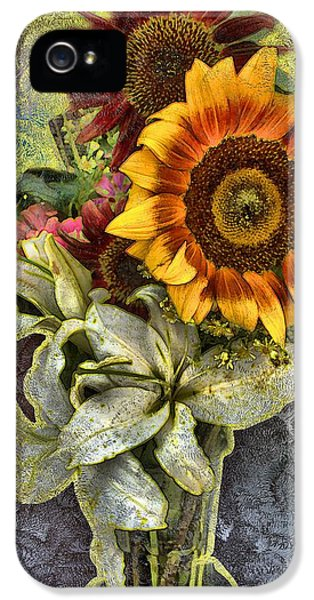 Sunflower Et Al. IPhone 5 Case by Terence Morrissey
