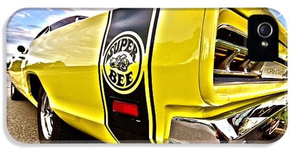 Breathe iPhone 5 Case - Super Close Super Bee  by Gordon Dean II