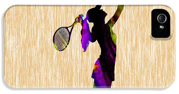 Tennis Match IPhone 5 Case by Marvin Blaine