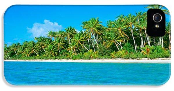 Tetiaroa Atoll French Polynesia Tahiti IPhone 5 Case by Panoramic Images