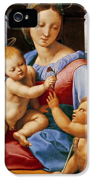 The Aldobrandini Madonna Or The Garvagh Madonna  IPhone 5 Case by Raphael