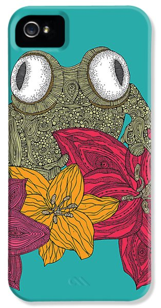 Amphibians iPhone 5 Case - The Frog by Valentina Ramos